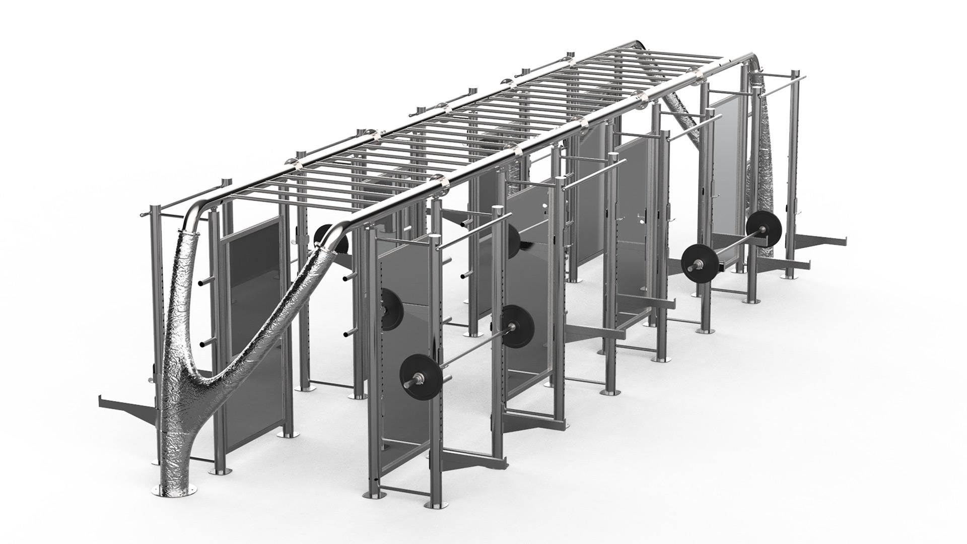 luxury power rack