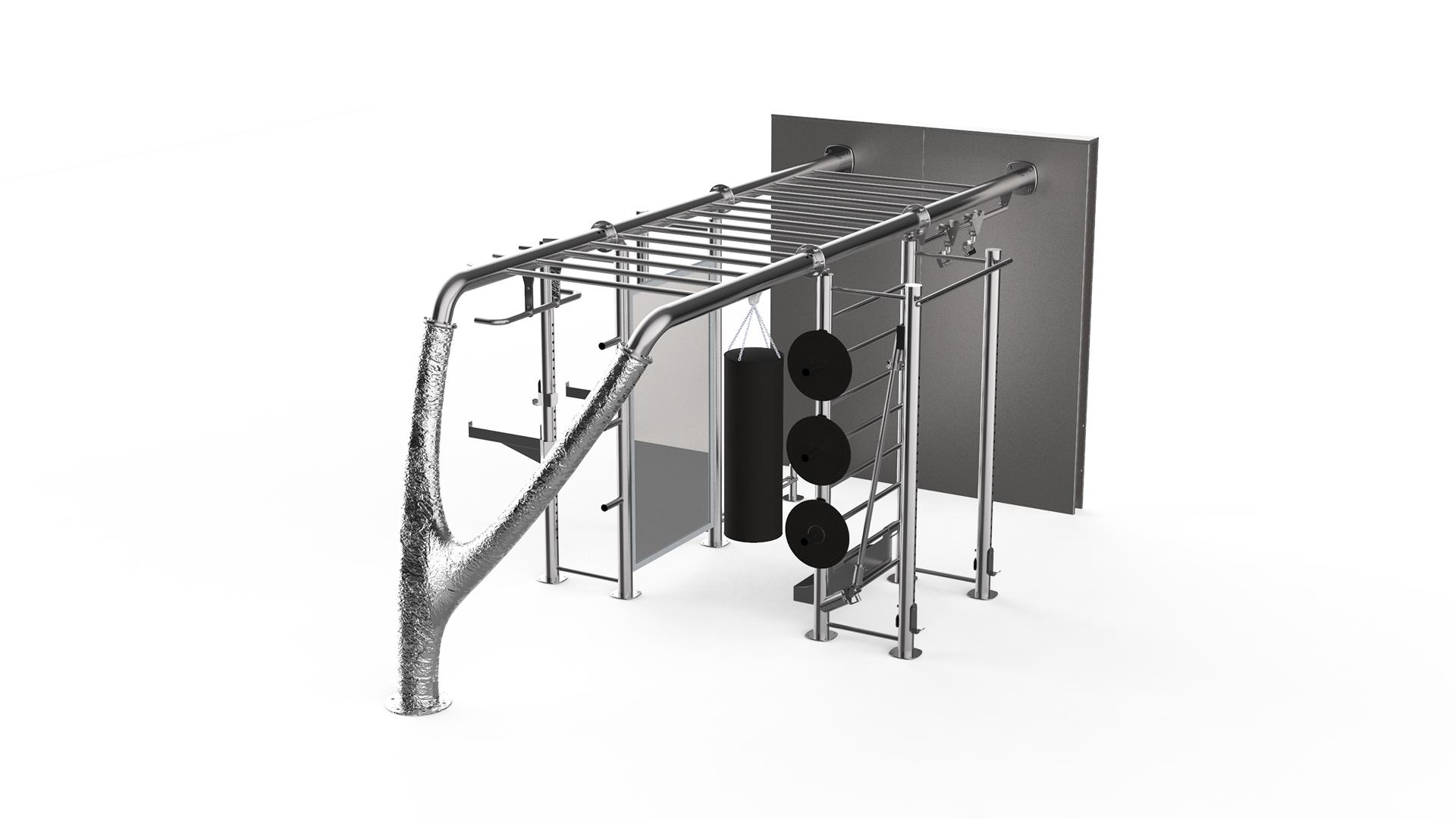 power rack wall